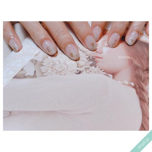 a little salon niiinaが投稿したネイルデザイン [photoid:I0094312] via Itnail Design (641574)