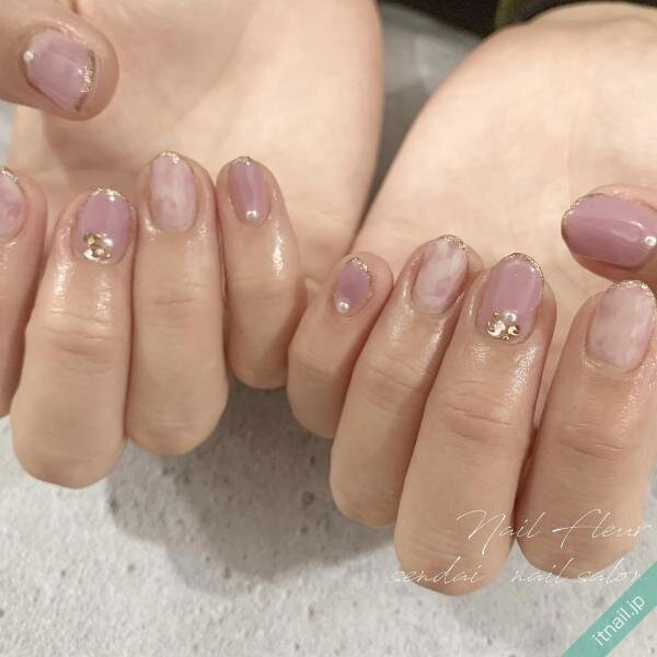 Nail fleurが投稿したネイルデザイン [photoid:I0090000] via Itnail Design (641778)
