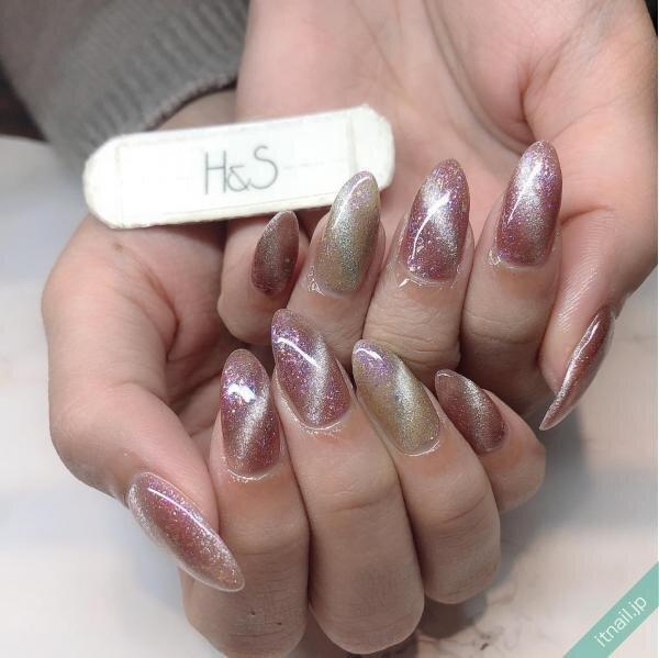 H&Sが投稿したネイルデザイン [photoid:I0095339] via Itnail Design (641787)