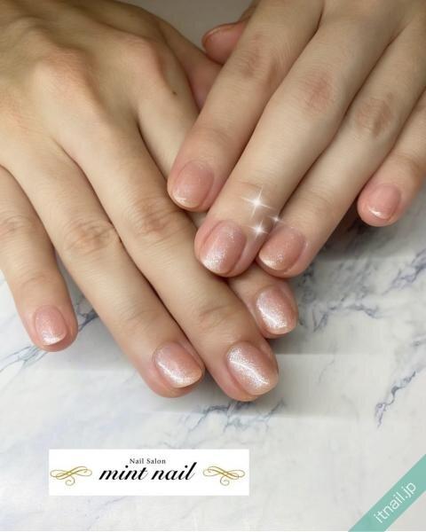 mint nailが投稿したネイルデザイン [photoid:I0089365] via Itnail Design (641838)