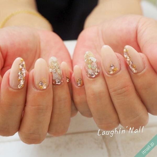 Laughin'Nailが投稿したネイルデザイン [photoid:I0071240] via Itnail Design (641974)