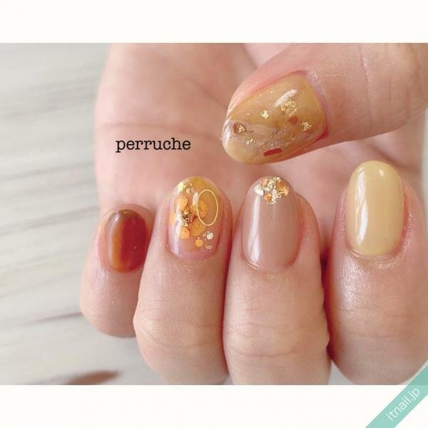perrucheが投稿したネイルデザイン [photoid:I0075914] via Itnail Design (641994)