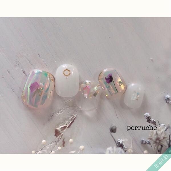 perrucheが投稿したネイルデザイン [photoid:I0069954] via Itnail Design (642125)
