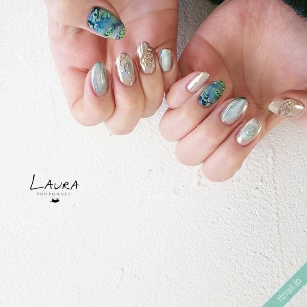 LAURA POMPONNEEが投稿したネイルデザイン [photoid:I0095265] via Itnail Design (642402)