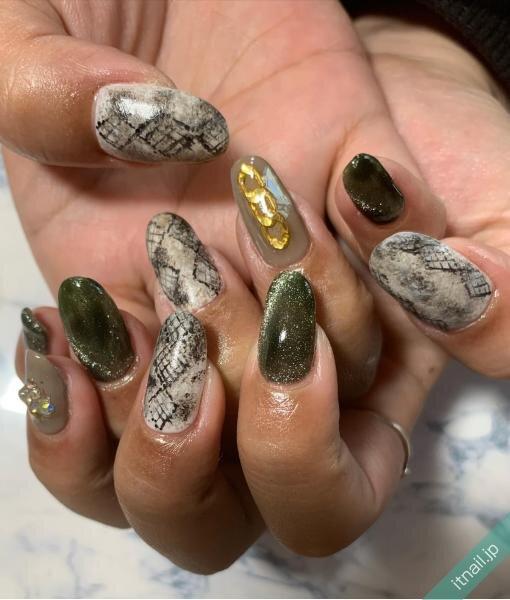 A-nailが投稿したネイルデザイン [photoid:I0091601] via Itnail Design (642447)