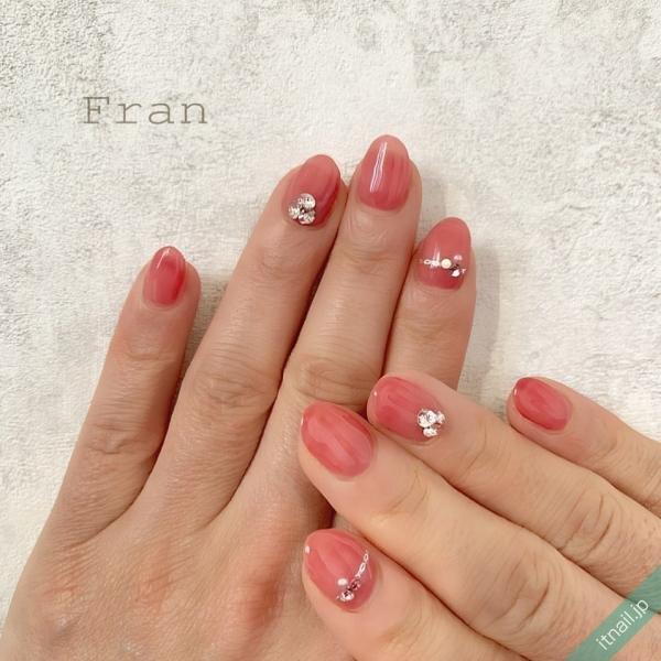 Franが投稿したネイルデザイン [photoid:I0093611] via Itnail Design (642478)