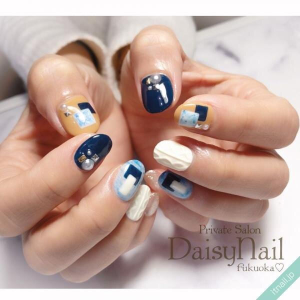 Daisy Nailが投稿したネイルデザイン [photoid:I0063545] via Itnail Design (643005)