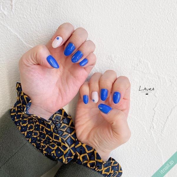 LAURA POMPONNEEが投稿したネイルデザイン [photoid:I0095243] via Itnail Design (643069)