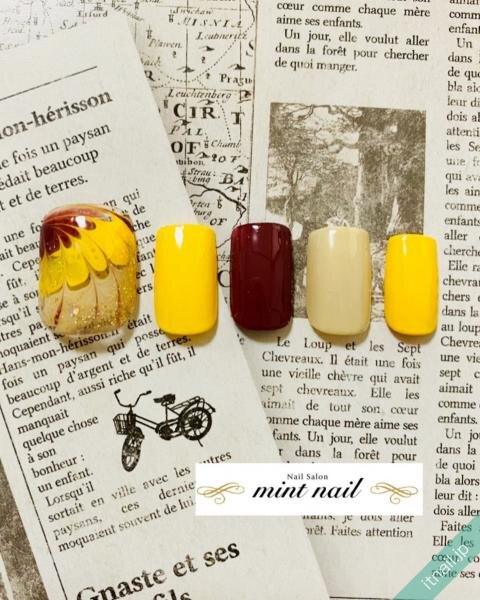 mint nailが投稿したネイルデザイン [photoid:I0089351] via Itnail Design (643091)
