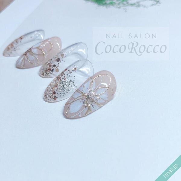 CocoRoccoが投稿したネイルデザイン [photoid:I0093291] via Itnail Design (643407)