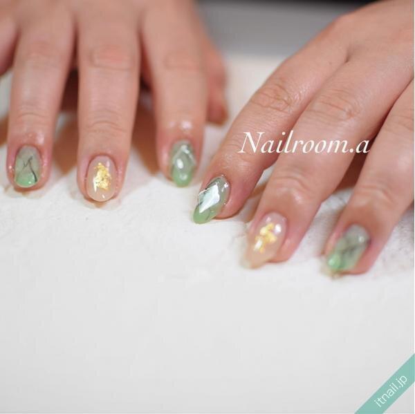 Nailroom彩が投稿したネイルデザイン [photoid:I0096006] via Itnail Design (643552)