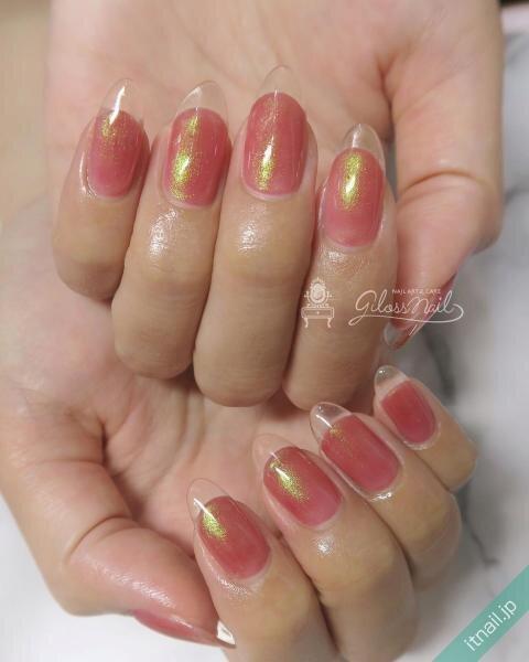 gloss nailが投稿したネイルデザイン [photoid:I0087177] via Itnail Design (643720)