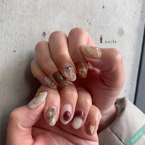 I nailsが投稿したネイルデザイン [photoid:I0096351] via Itnail Design (644095)