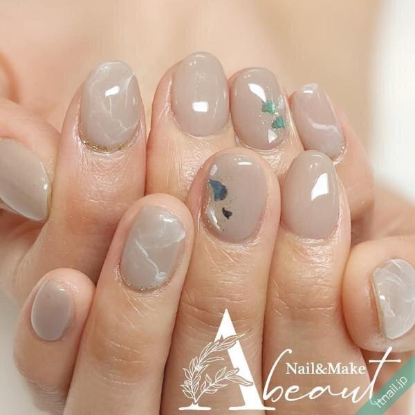 Nail&Make Abeautが投稿したネイルデザイン [photoid:I0096034] via Itnail Design (644102)