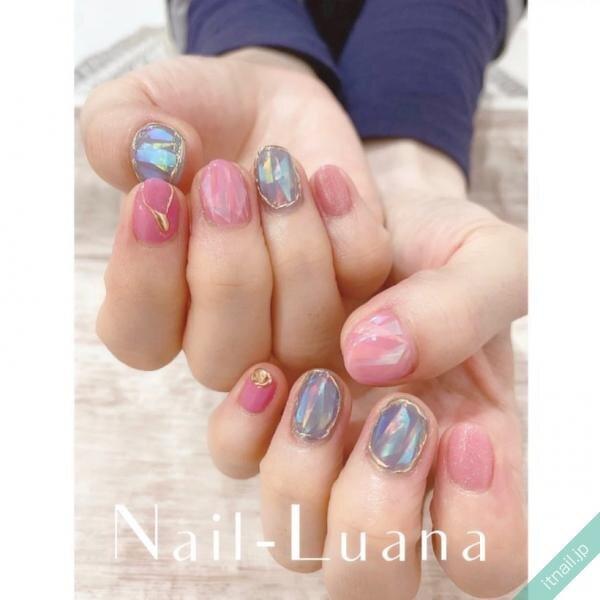 Nail-Luanaが投稿したネイルデザイン [photoid:I0096622] via Itnail Design (644178)