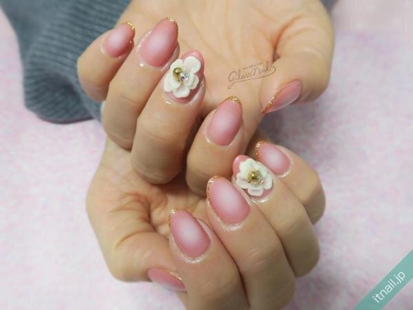 gloss nailが投稿したネイルデザイン [photoid:I0093047] via Itnail Design (644369)
