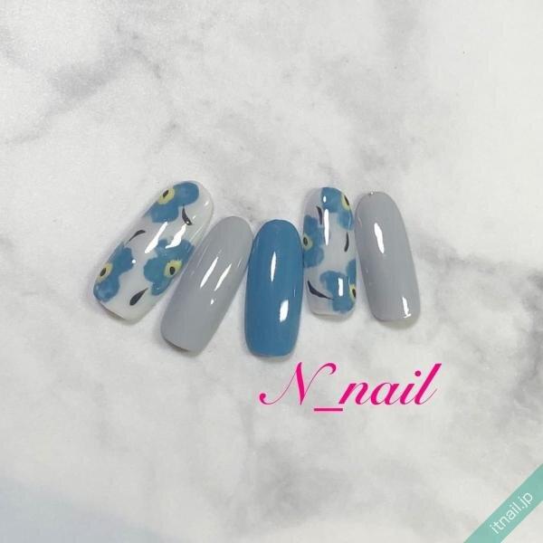 N_nailが投稿したネイルデザイン [photoid:I0094753] via Itnail Design (644381)
