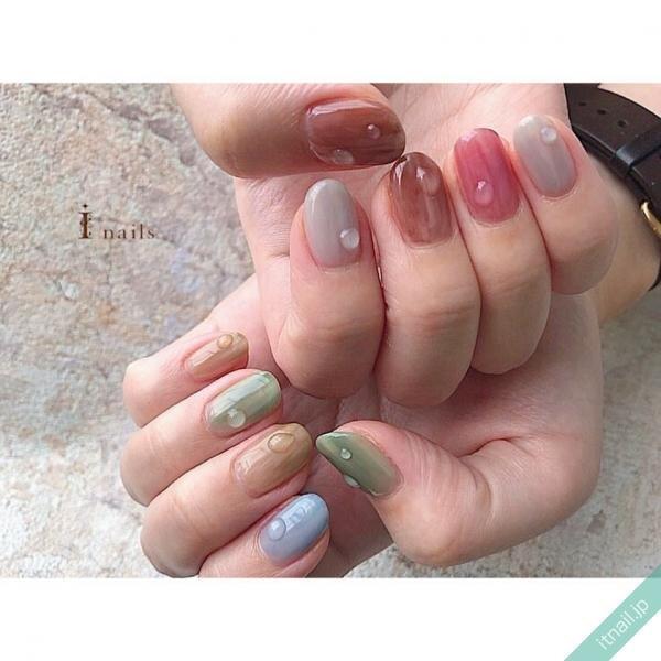 I nailsが投稿したネイルデザイン [photoid:I0087172] via Itnail Design (644412)