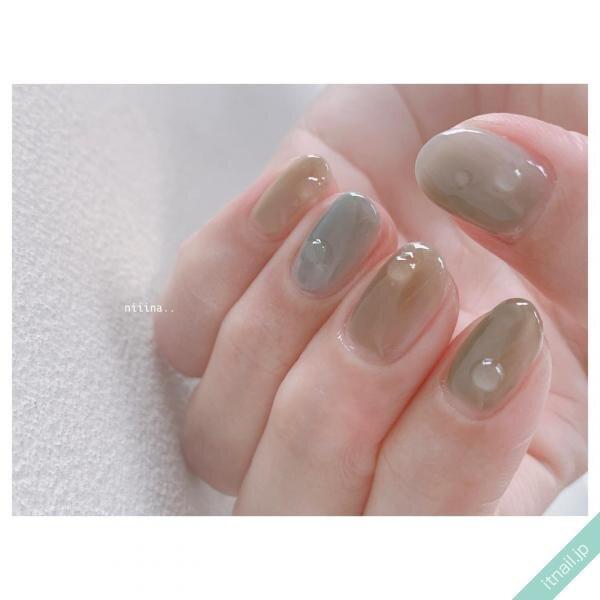 a little salon niiinaが投稿したネイルデザイン [photoid:I0084649] via Itnail Design (644413)