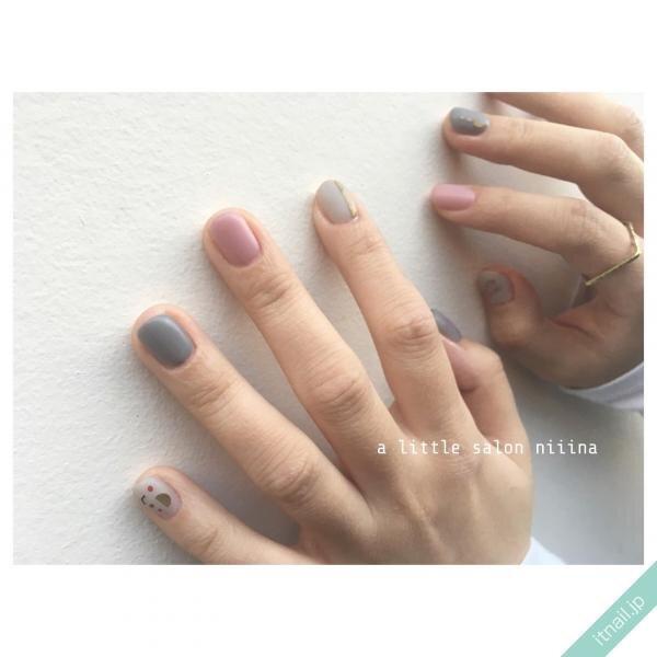a little salon niiinaが投稿したネイルデザイン [photoid:I0094304] via Itnail Design (644936)