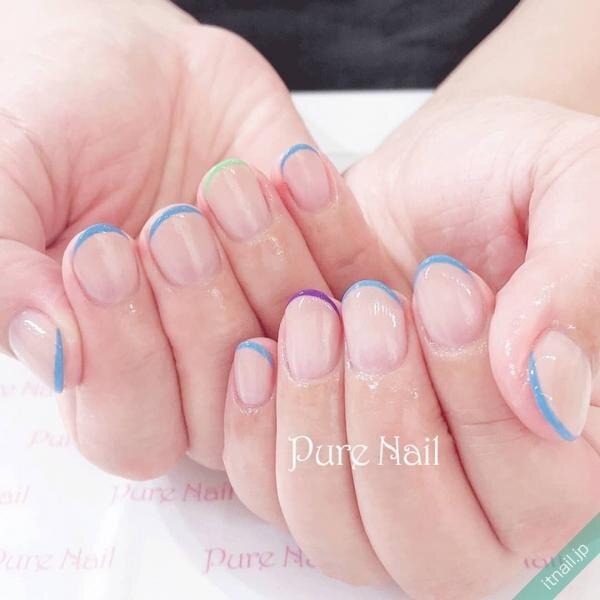 Pure Nailが投稿したネイルデザイン [photoid:I0085259] via Itnail Design (645016)