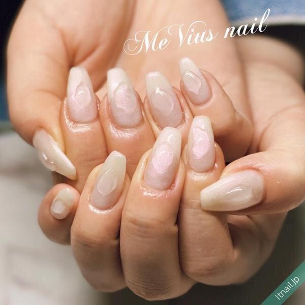 MeVius nailが投稿したネイルデザイン [photoid:I0087391] via Itnail Design (645157)