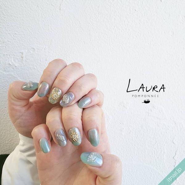 LAURA POMPONNEEが投稿したネイルデザイン [photoid:I0095301] via Itnail Design (645273)