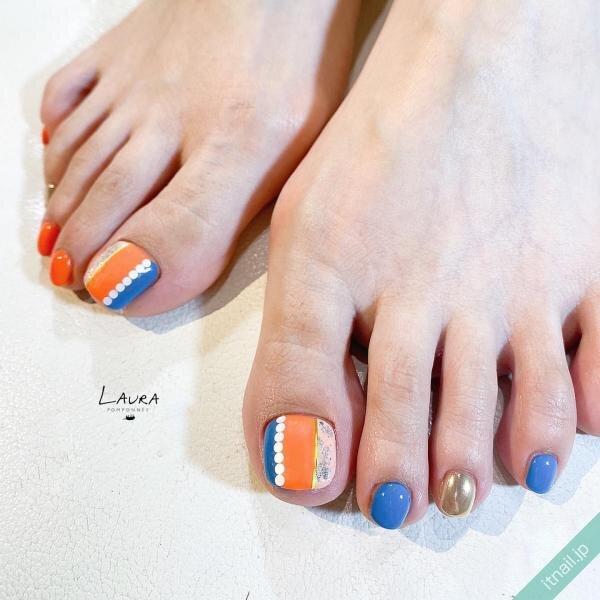 LAURA POMPONNEEが投稿したネイルデザイン [photoid:I0095266] via Itnail Design (645347)