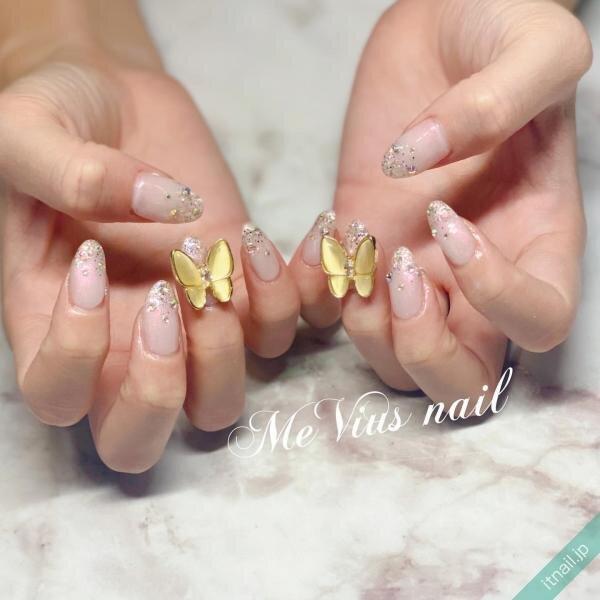 MeVius nailが投稿したネイルデザイン [photoid:I0093184] via Itnail Design (645636)