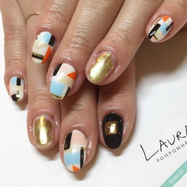 LAURA POMPONNEEが投稿したネイルデザイン [photoid:I0002603] via Itnail Design (645717)