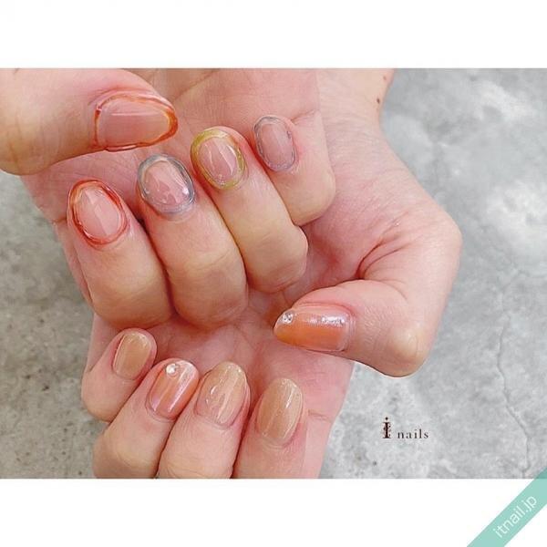 I nailsが投稿したネイルデザイン [photoid:I0087169] via Itnail Design (645892)