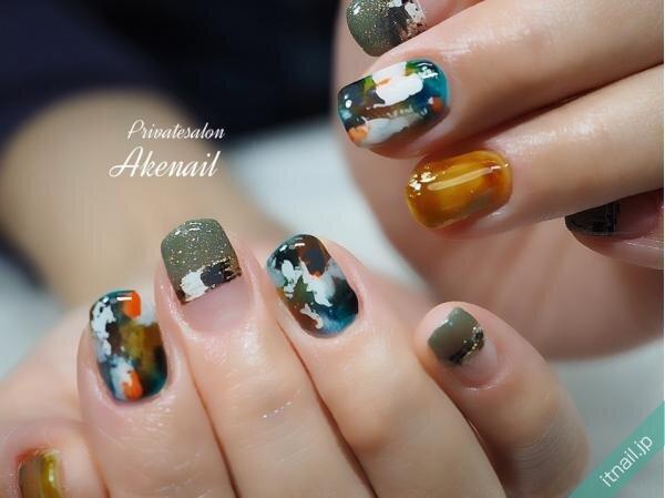 Private salon Ake nailが投稿したネイルデザイン [photoid:I0090628] via Itnail Design (646161)