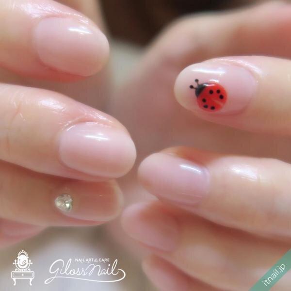 gloss nailが投稿したネイルデザイン [photoid:I0069334] via Itnail Design (646447)