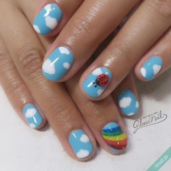 gloss nailが投稿したネイルデザイン [photoid:I0083332] via Itnail Design (646450)