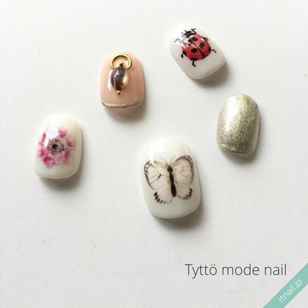 Tyttö mode nailが投稿したネイルデザイン [photoid:I0025736] via Itnail Design (646451)