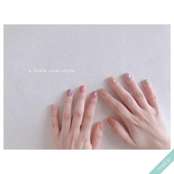 a little salon niiinaが投稿したネイルデザイン [photoid:I0097628] via Itnail Design (646526)