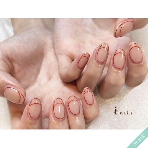I nailsが投稿したネイルデザイン [photoid:I0087112] via Itnail Design (646569)