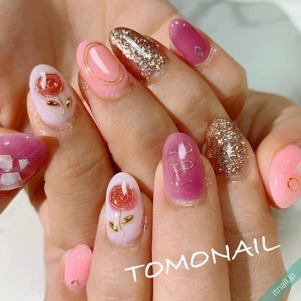 TOMONAILが投稿したネイルデザイン [photoid:I0078407] via Itnail Design (646571)