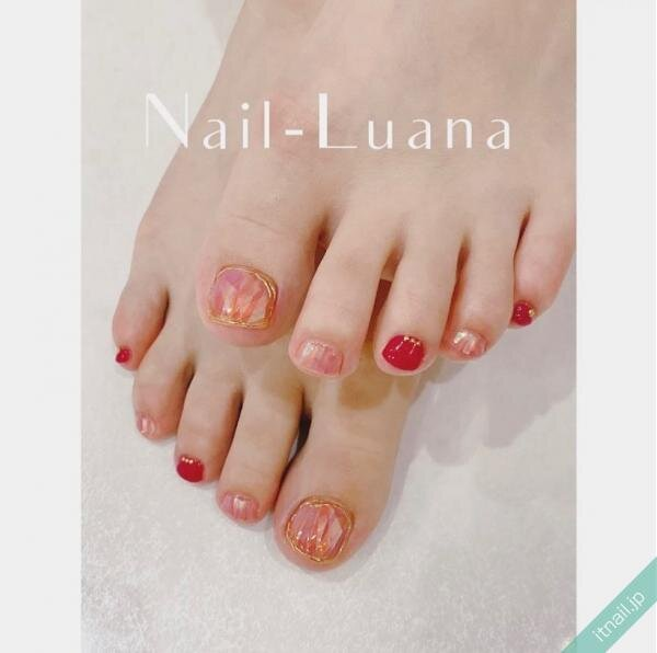 Nail-Luanaが投稿したネイルデザイン [photoid:I0096618] via Itnail Design (646837)