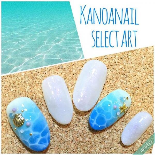 Kanoanailが投稿したネイルデザイン [photoid:I0027743] via Itnail Design (646901)
