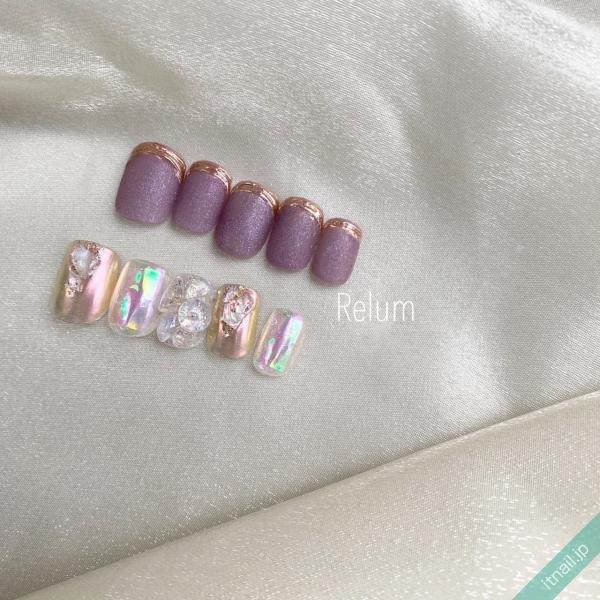 RELUMが投稿したネイルデザイン [photoid:I0095377] via Itnail Design (646904)
