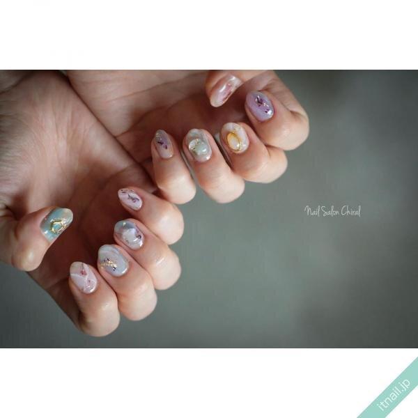 Nail Salon Chiralが投稿したネイルデザイン [photoid:I0074414] via Itnail Design (646940)