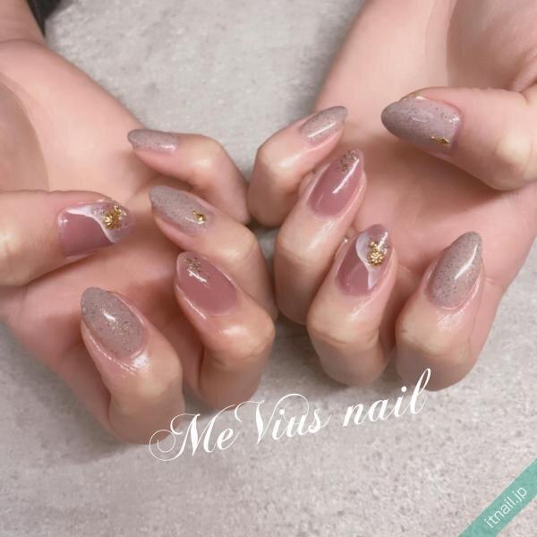 MeVius nailが投稿したネイルデザイン [photoid:I0096491] via Itnail Design (646961)