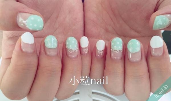 小粒nailが投稿したネイルデザイン [photoid:I0026299] via Itnail Design (647050)