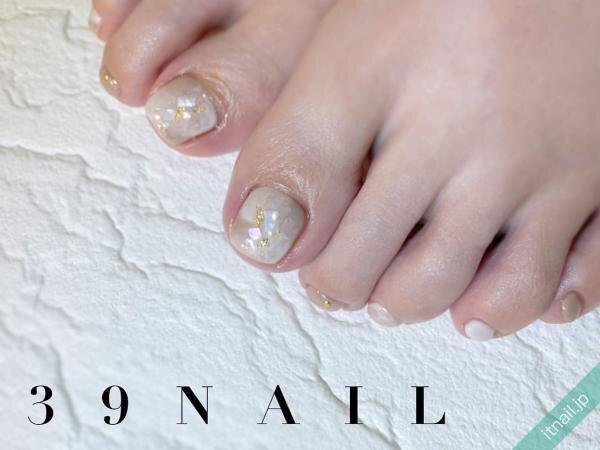 39NAILが投稿したネイルデザイン [photoid:I0098081] via Itnail Design (647210)