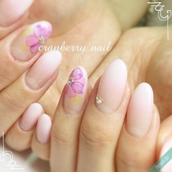 cranberry nailが投稿したネイルデザイン [photoid:I0006043] via Itnail Design (647241)