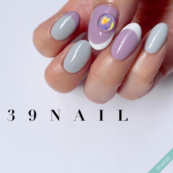 39NAILが投稿したネイルデザイン [photoid:I0098084] via Itnail Design (647453)