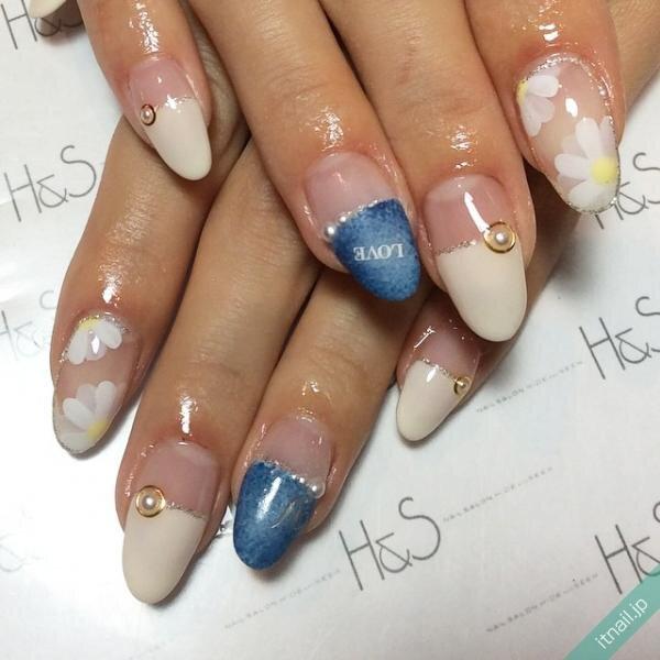 H&Sが投稿したネイルデザイン [photoid:I0017584] via Itnail Design (647525)