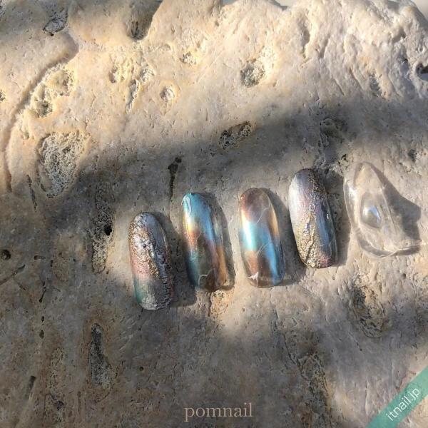 pom nailが投稿したネイルデザイン [photoid:I0095441] via Itnail Design (647556)