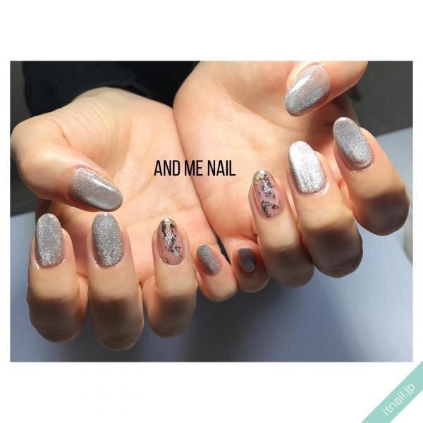 AND ME NAILが投稿したネイルデザイン [photoid:I0091974] via Itnail Design (647752)